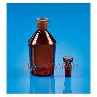 Reagent Bottle NMFS Amber Colours (Soda Glass)