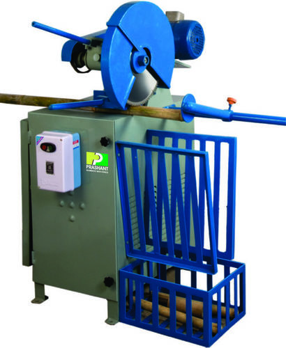 Bamboo Pole Cutter Machine