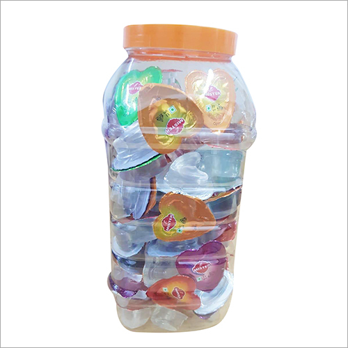 LOVE JELLY 100 PCS X 15 JAR MRP RS.1/- PER PCS