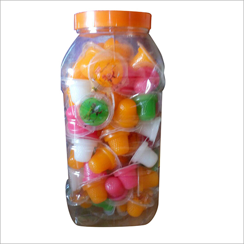 PUDDING JELLY CUP (MIXED FLAVOR) MRP RS.1/-