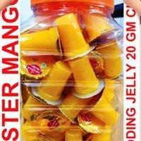 Mister Mango Pudding Jelly 18 Gm X 70 Pcs X 15 Jar Mrp Rs.2/-