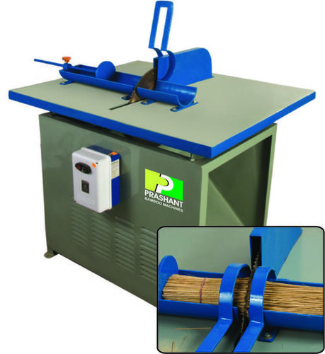 Bamboo Stick Length Cutting Machine
