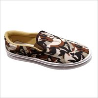 Mens Canvas Loafer Shoes.