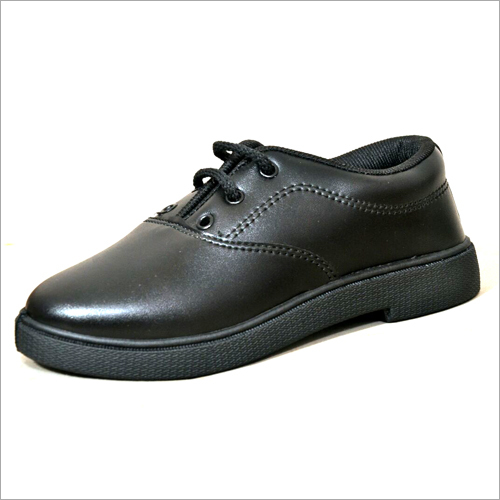 Boys Derby Black School Shoes