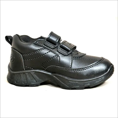 Black Gola Unisex School Shoes