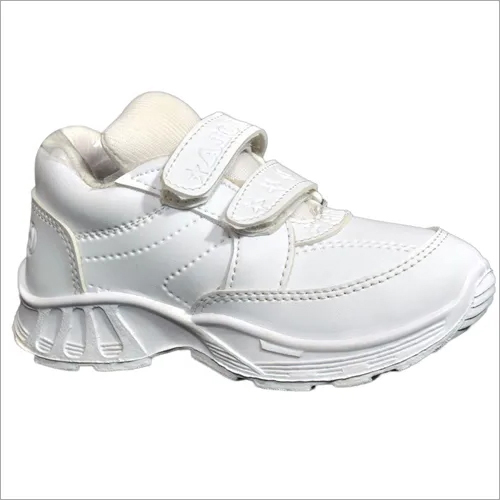White Gola Unisex School Shoes