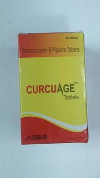 Nanocurcumin & Piperine Tablets