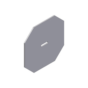 Stay Plate - Base Plate - Anchor Plate - Octaganal