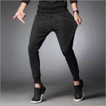 Mens Lycra Polyester Track Pants