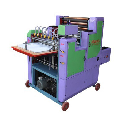 Semi Automatic Mini Offset Printing Machine