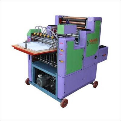Single Color Non Woven Bag Printing Machine