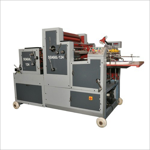 Two Color Satellite Model Non Woven Bag Printing Machine
