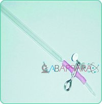 Burette With Pinch Cock, Glass get And Rubber Tube (Soda Glass)