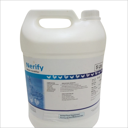 5 L Poultry Water Acidifier