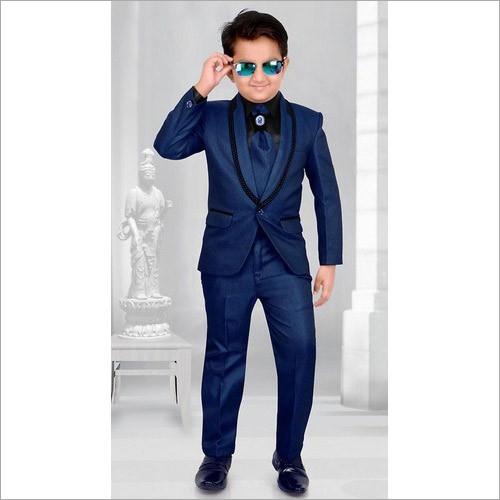 Kids Designer Coat Pant Suit