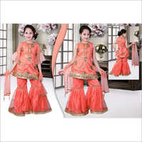 Girls Sharara Suit