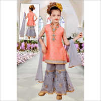 Girls Designer Sharara Suit