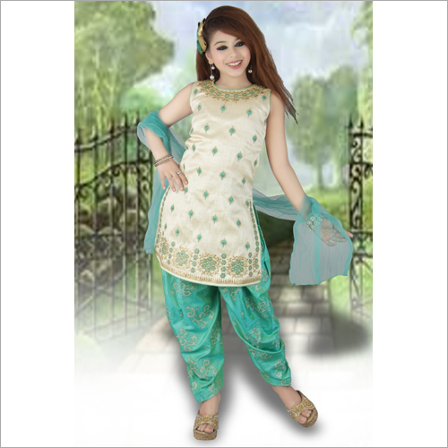 Girls Patiala Salwar Suit