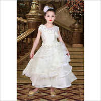 Girls Short Sleeve Gown
