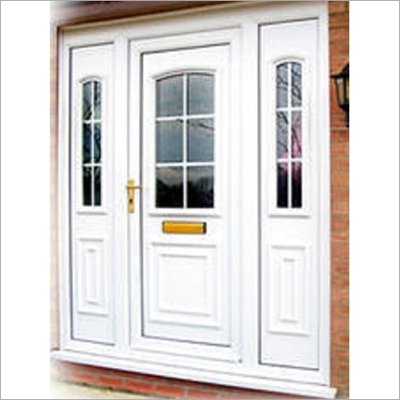 UPVC Lockable Door