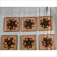 Designer Hand Painted Tea Coaster