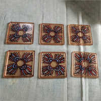 Hand Painted Tea Coaster