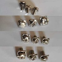 Screw , Square Washer & Spring Washer Set