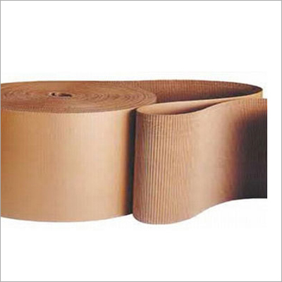 Single Ply Corrugated Paper Roll