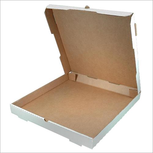 Plain White Pizza Box