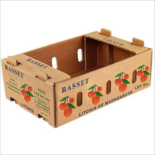Printed Fruit Packaging Box