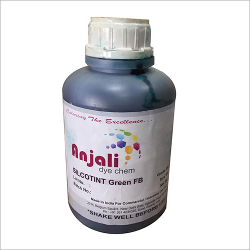 Silcotint Royal Green B.R Dye Chemical