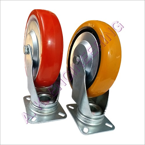 Swivel Plate Caster Wheel