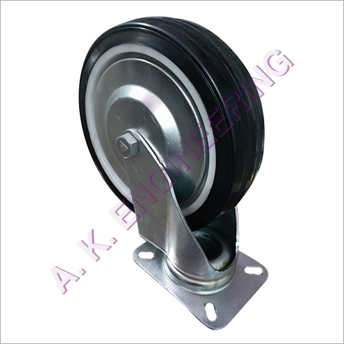 Synthetic Rubber Caster Wheel