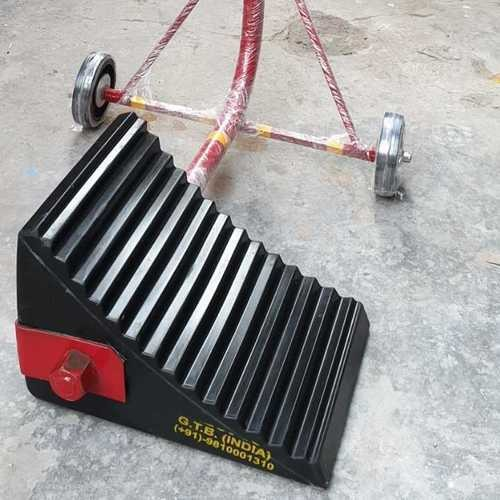 Heavy Duty Wheel chocks with wheels