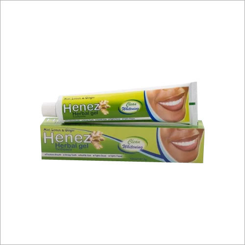 Herbal Gel Toothpaste