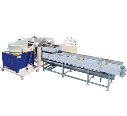 Fully Automatic Double Barrel Magnetic Finishing Machine