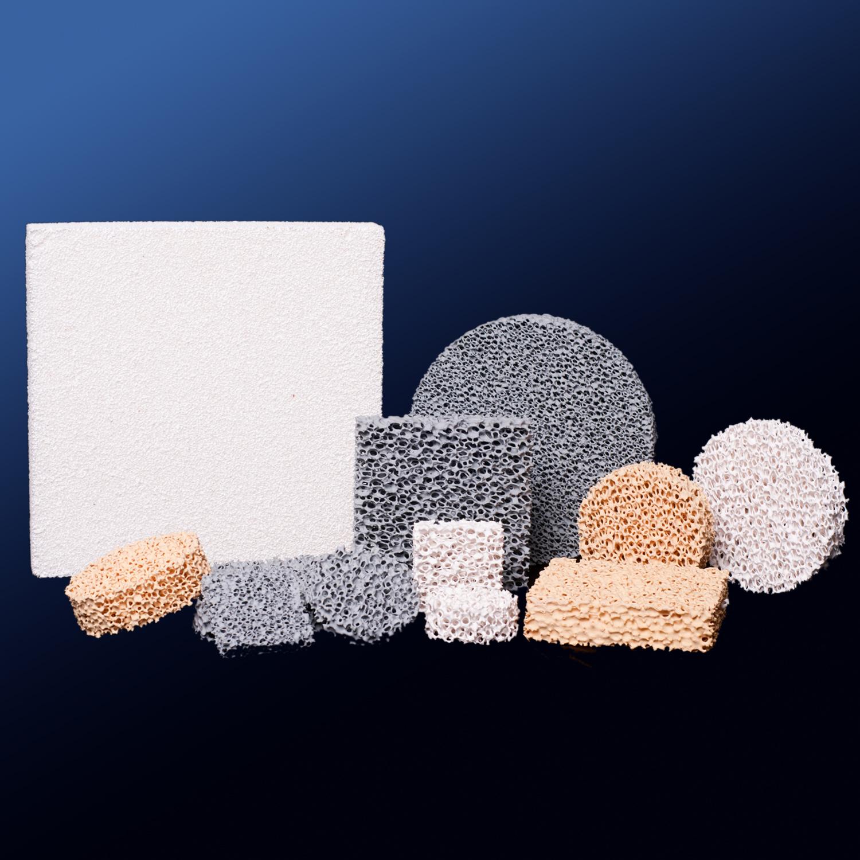 10ppi High Porosity Foam Ceramic Filter