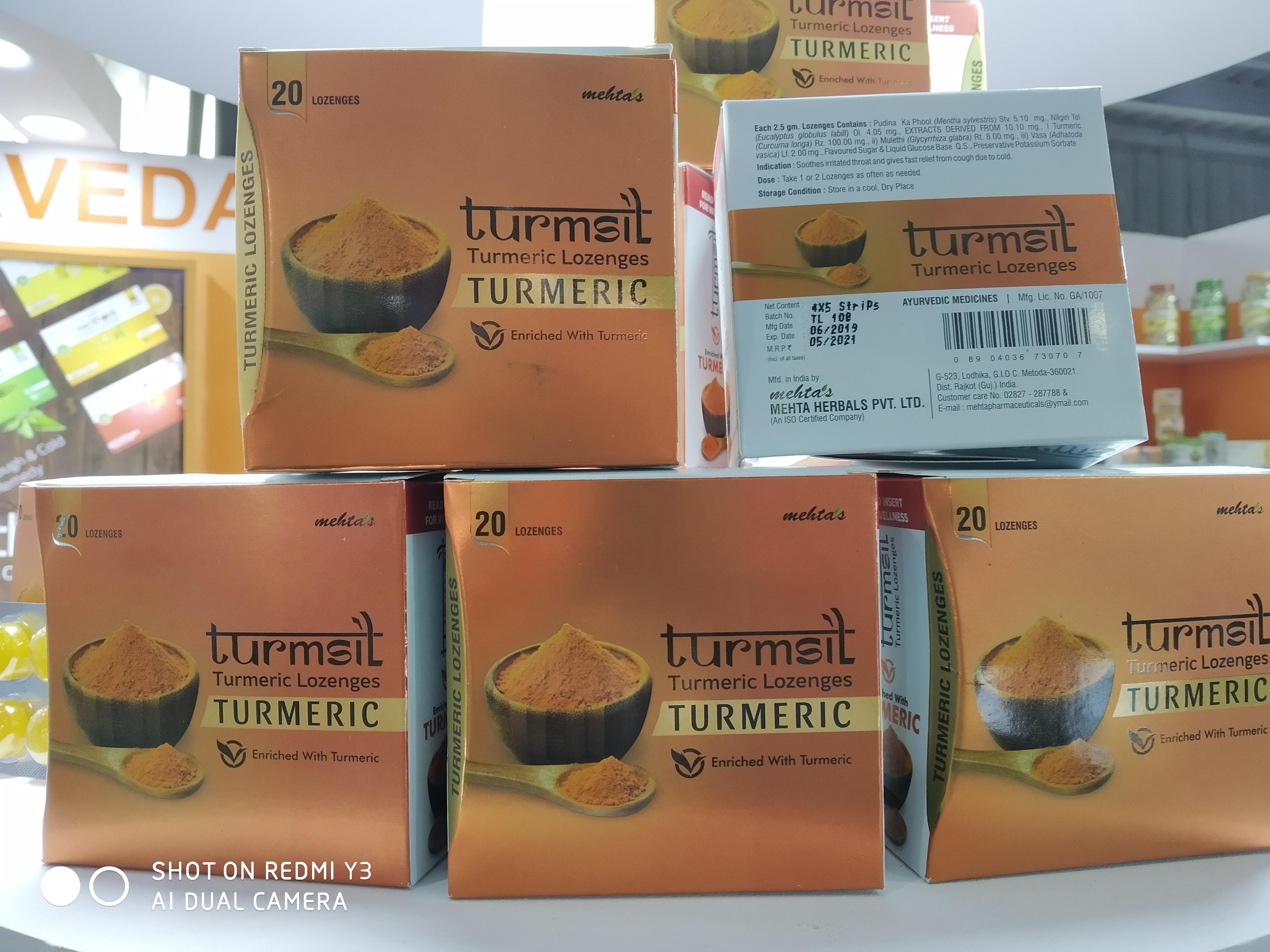 Turmeric Lozenges