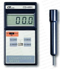CONDUCTIVITY METER LUTRON CD 4301