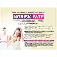 Combi-Kit For Abortion (Mifep Ristone 200 Mg 1 Tablet & Miso Prostol 200 Mcg 4 Tablet)