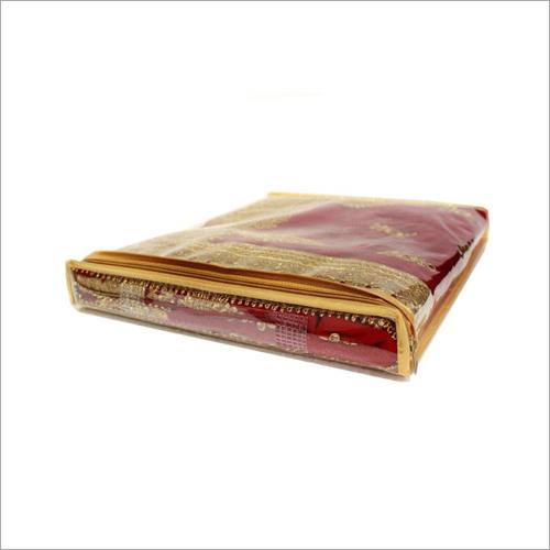 PVC Transparent Saree Packing Bag