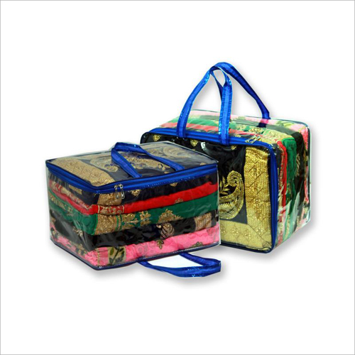 Ladies Saree Transparent Packing Bag
