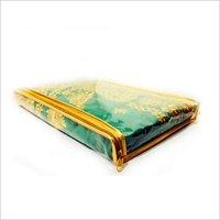 Saree Transparent Zipper Packing Bag
