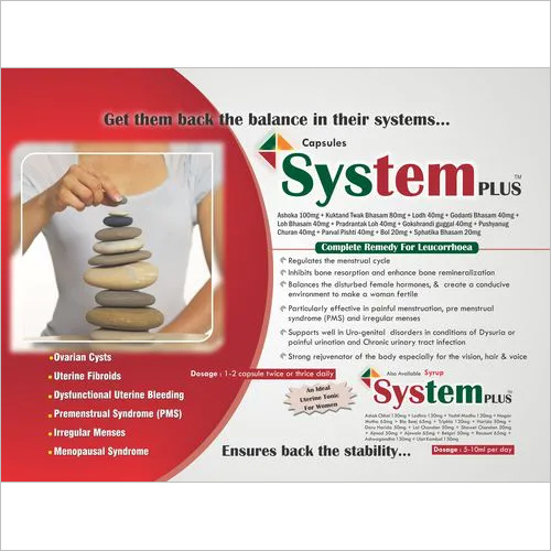 Female Ayurvedic Capsule-System-Plus