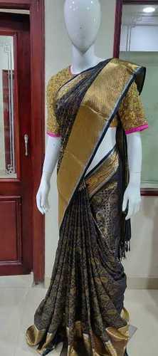 Zardozi Embroidery Saree