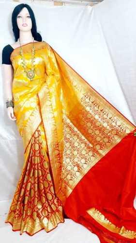 Rajasthani Stitch Silk Sky Blue Sarees