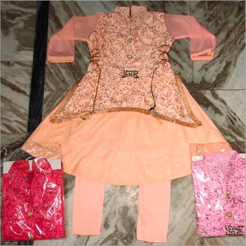 Girls Designer Kurti Set