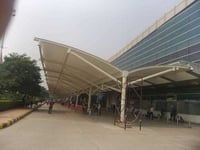 Airport Tensile Entrance Canopy