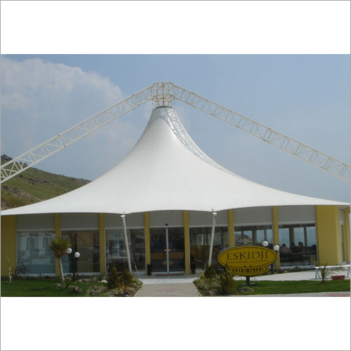 Artistic Roof Tensile Structure