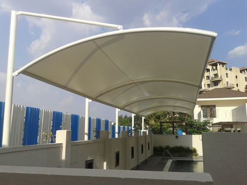 Swimming Pool Cover Tensile Structure